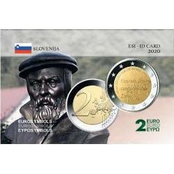 Slovénie 2020 Adam- Carte commémorative