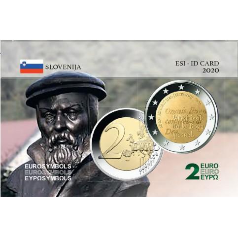 Slovénie 2020- Carte commémorative