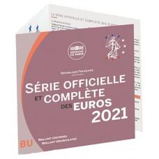 France 2021 - Coffrets euro BU