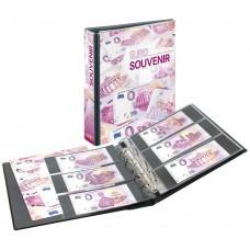 """Album pour billets """"Euros Souvenirs"""""""