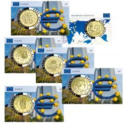 Lot de 5 Coincards - SERIE Banque centrale