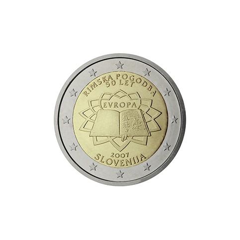 Slovénie 2007 Traité de Rome - 2 euro commémorative