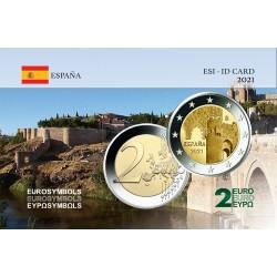 Espagne 2021 Tolede - Carte commémorative