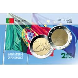 Portugal 2021 Présidence - Carte commémorative
