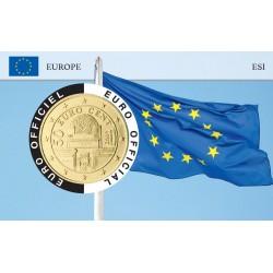 Autriche Coincard - Drapeau Européen