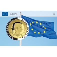 Belgique Coincard - Drapeau Européen