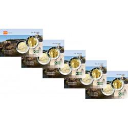 Lot x5 Espagne 2021 Tolede - Carte commémorative