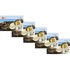 Lot x5 Espagne 2021 - Carte commémorative