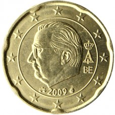 Belgique Roi Albert II 20 centimes