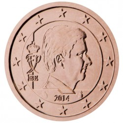 Belgique Roi Philippe 5 centimes
