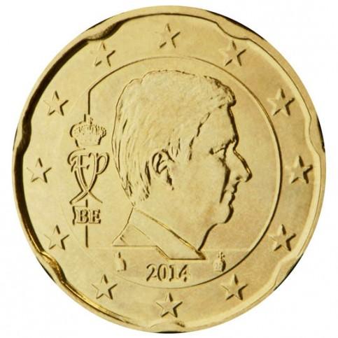 Belgique Roi Philippe 20 centimes