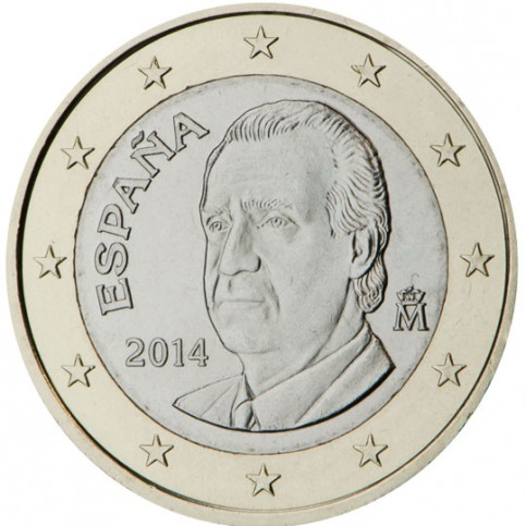 Espagne Juan Carlos 1 euro