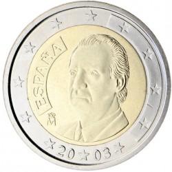 Espagne Juan Carlos 2 euros