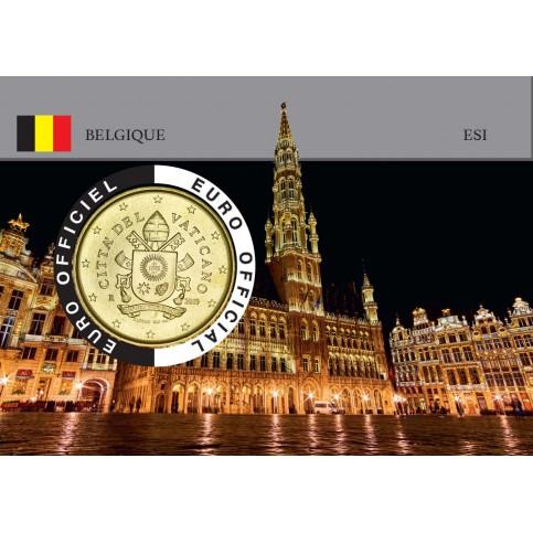 Vatican Coincard - Capitale Européenne - La Grande Place