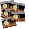 Lot de 5 coincards- Capitale Européenne - La Grande Place