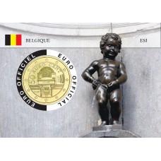 Autriche Coincard - Capitale Européenne - Manneken Pis