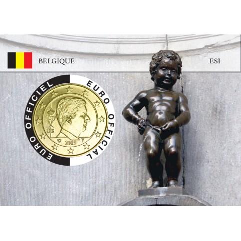 Belgique Coincard - Capitale Européenne - Manneken Pis