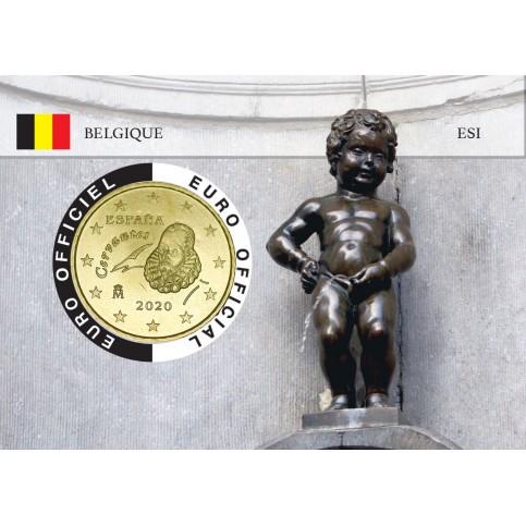Espagne Coincard - Capitale Européenne - Manneken Pis