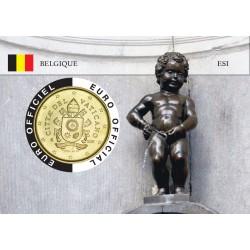 Vatican Coincard - Capitale Européenne - Manneken Pis