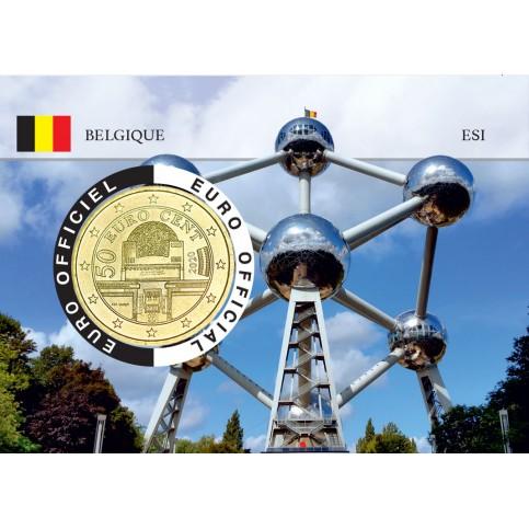 Autriche Coincard - Capitale Européenne - Atomium