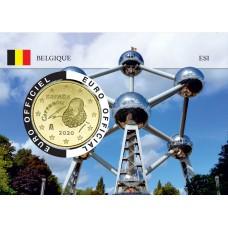 Espagne Coincard - Capitale Européenne - Atomium