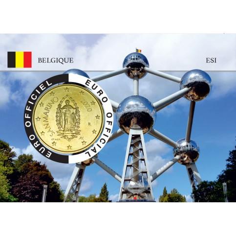 Saint Marin Coincard - Capitale Européenne - Atomium