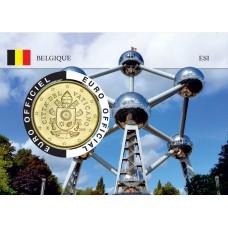 Vatican Coincard - Capitale Européenne - Atomium