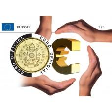 Vatican Coincard - L'Europe