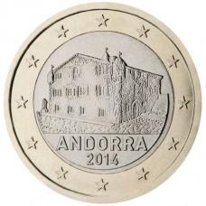 Andorre - 1 euro