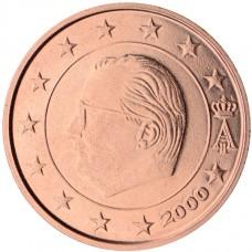 Belgique Roi Albert II 2 centimes