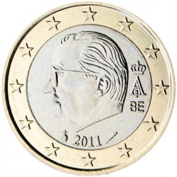 Belgique Roi Albert II 1 euro