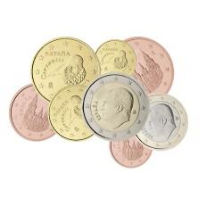 Espagne Felipe VI - Série complète euro neuve
