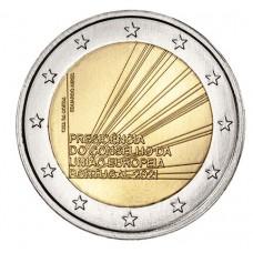 Portugal 2021 - 2 euro commémorative Présidence de l'UE