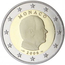 Monaco Prince Albert 2 euros