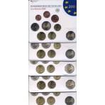 Allemagne 2008, les 5 ateliers - Coffrets euro BU