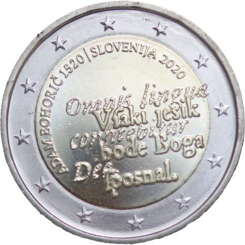 Slovénie 2020 - 2 euro commémorative Adam Bohoric