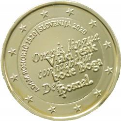 Slovénie 2020 - euro commémorative dorée à l'or fin 24 carats