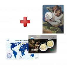 Lot Saint Marin 2020 Tiepolo  + carte commémorative