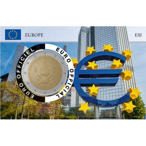 Italie 2020 Pompiers Coincard - Banque centrale