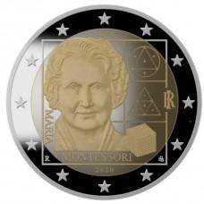 Italie 2020 - 2 euro commémorative Montessori