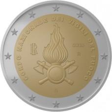 Italie 2020 - 2 euro commémorative Pompiers