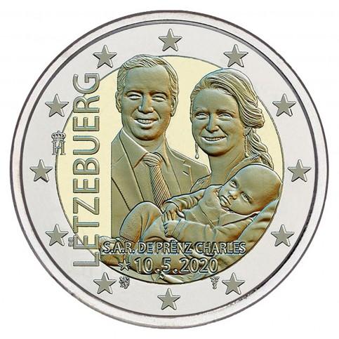 Luxembourg 2020 - 2 euros commémorative Naissance  relief