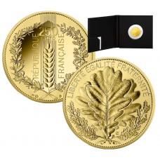 France 2020 - 20 euros OR Le Chêne