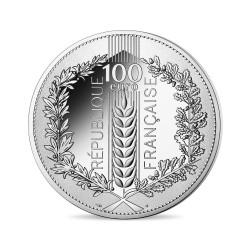 France 2020 - 100 euros Argent Le Chêne