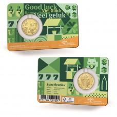 Pays Bas 2021 Coincard - 10 cts Bonne Chance