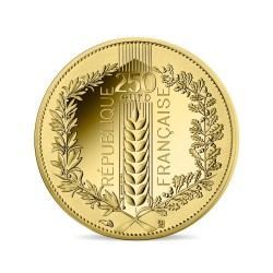 France 2021 - 250 euros OR Le Laurier