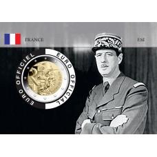 France 2020 DEGAULLE Coincard - Portrait