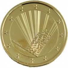 Portugal 2021 dorée à l'or fin 24 carats - 2€ commémorative