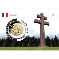 France 2020 DEGAULLE Coincard - La Croix de Lorraine