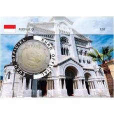 Monaco 2020 Albert de Monaco Coincard - L'Eglise